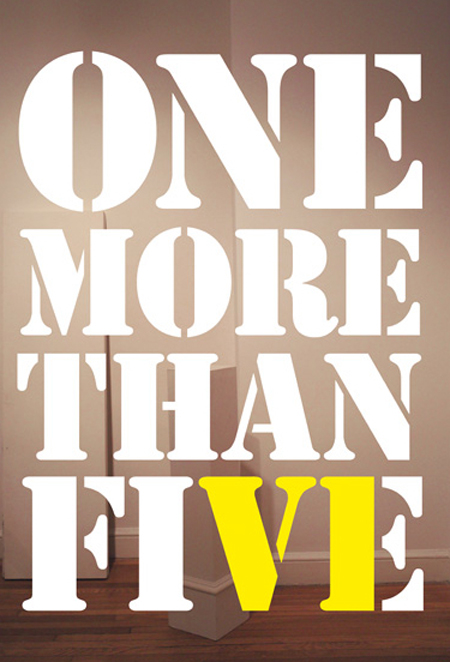 <em>One More Than Five</em>, Resident Artists Exhibition