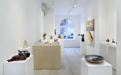 Ghada Amer, Trisha Baga, Robin Cameron, Joanne Greenbaum, Pam Lins, Alice Mackler and David Salle Exhibition