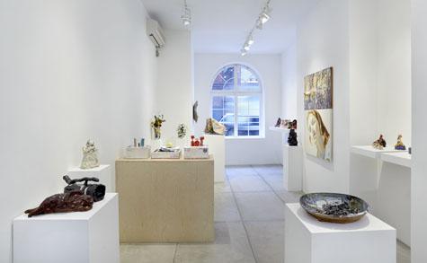 Ghada Amer, Trisha Baga, Robin Cameron, Joanne Greenbaum, Pam Lins, Alice Mackler and David Salle Exhibition