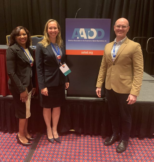 MMTP Staff Presents on Importance of LGBT+ Inclusivity in Treatment Centers at AATOD Conference
