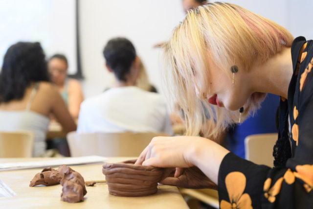 Pottery at the Whitney: Open Studio for Teens