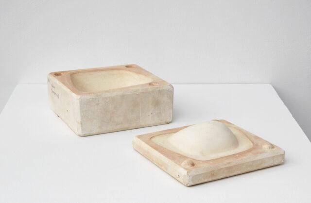 "Minnie Negoro two-part mold 7¾"" x 8"" x 4 ½"" Courtesy Denise Pelletier"