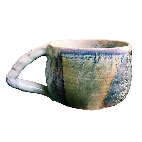 "MaryKate Glenn, ""Unattended Elbow,"" stoneware, glaze, 2019."