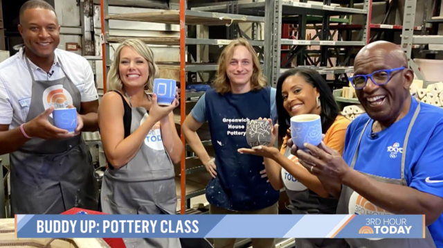 Greenwich House Pottery on The TODAY Show